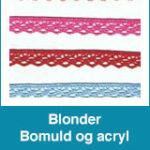 Blonder – Bomuld og acryl