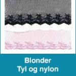 Blonder – Tyl og nylon
