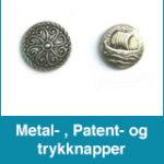 Metal- Patent- og trykknapper