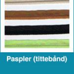 Paspler (tittebånd)